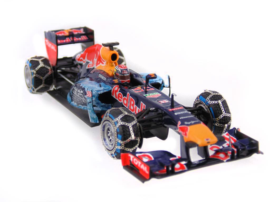 red bull racing rb 7 m verstappen snow run 2016 413169933 ebay. Black Bedroom Furniture Sets. Home Design Ideas