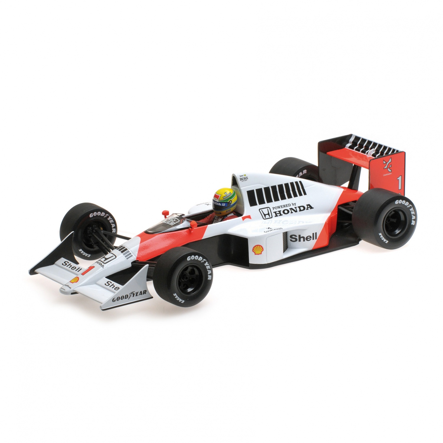 ayrton senna mclaren honda mp4 5 1 18 ebay. Black Bedroom Furniture Sets. Home Design Ideas